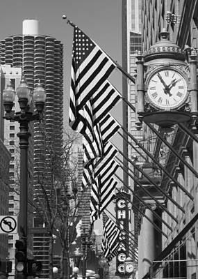 State Street Scene - 1 Poster by Sheryl Thomas