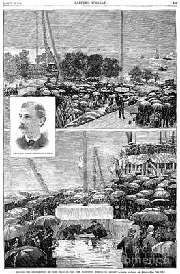 Statue Of Liberty, 1884 Poster by Granger