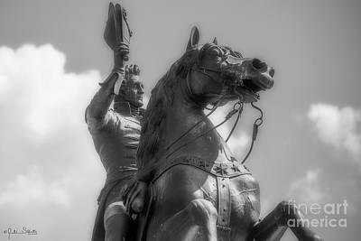 Statue Of President Andrew Jackson #2 Poster by Julian Starks