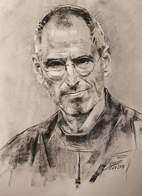 Steve Jobs Poster by Ylli Haruni