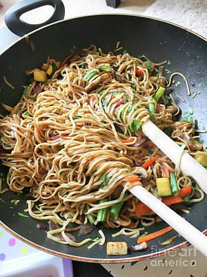 Stir Fry Noodles Poster