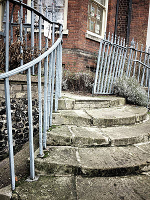 Stone Steps Detail Poster by Tom Gowanlock