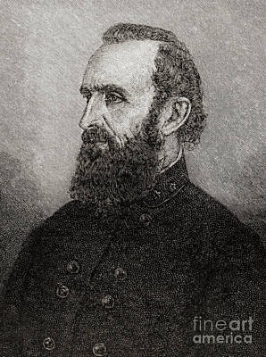 Stonewall Jackson Poster by American School