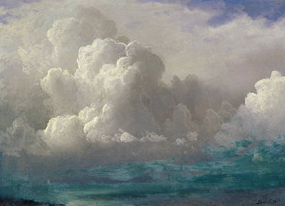 Storm Clouds Poster by Albert Bierstadt