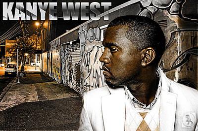 Street Phenomenon Kanye West Poster