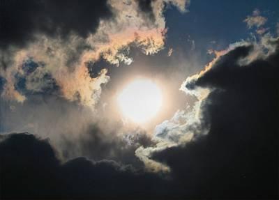 Sun Breaking Through Poster by Kathryn Meyer