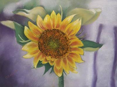 Sunflowers For Nancy Poster