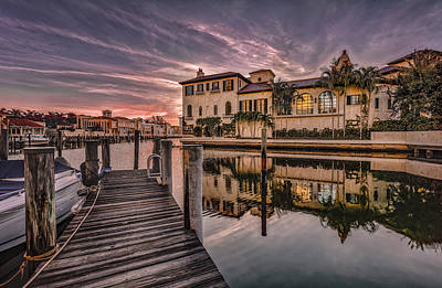Sunrise At Naples, Florida Poster