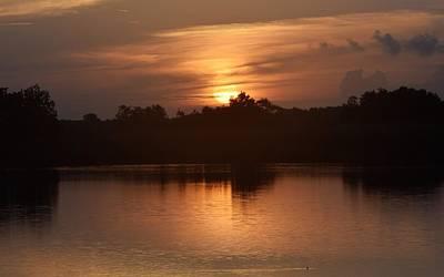 Sunrise On The Bayou Poster