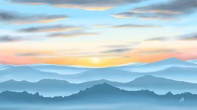 Sunrise Poster by Veronica Minozzi