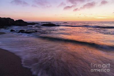 Sunset Over Laguna Beach   Poster