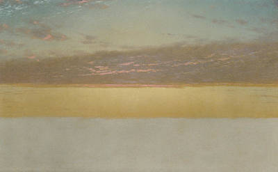 Sunset Sky Poster by John Frederick Kensett