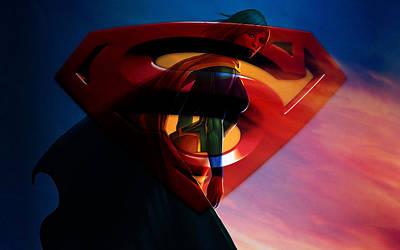 Supergirl Art Poster