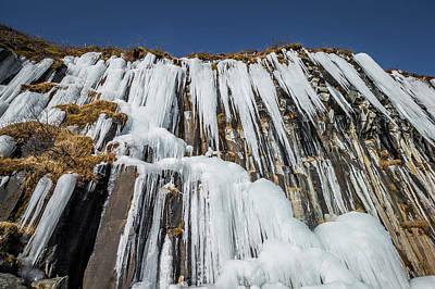 Svartifoss Waterfall, Iceland Black Poster