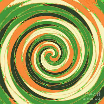 Swirl Poster by Gaspar Avila