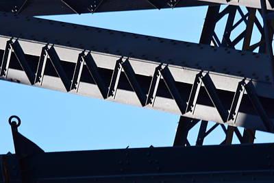 Sydney Harbour Bridge Detail No. 2 Poster by Sandy Taylor