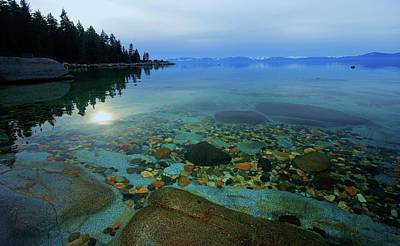 Tahoe Twilight Poster