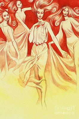 Tannhauser And Venus Poster by Ron Embleton