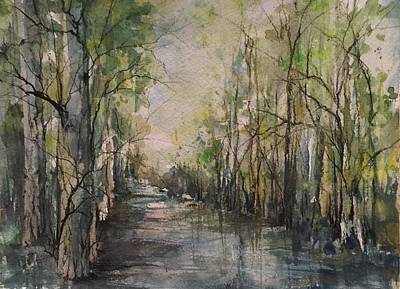 Bayou Liberty Poster by Robin Miller-Bookhout