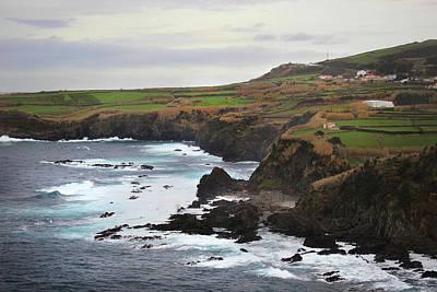 Terceira Coastline Poster