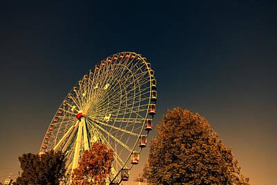 Texas Star Ferris Wheel Poster