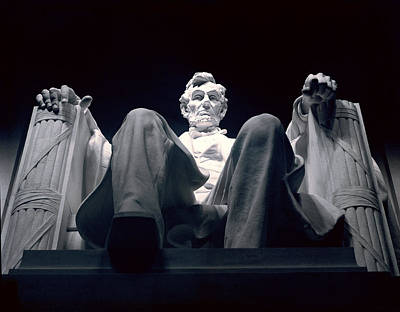 The Abraham Lincoln Statue Poster