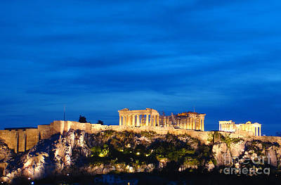 The Acropolis Of Athens Poster