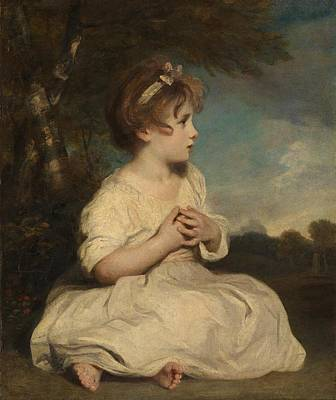 The Age Of Innocence Poster by Joshua Reynolds