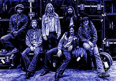 The Allman Brothers Collection Poster