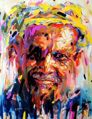 The Amazigh Man Poster by Chababi Abdelhakim