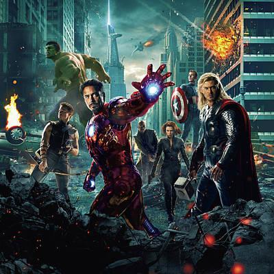 The Avengers 2012 Poster