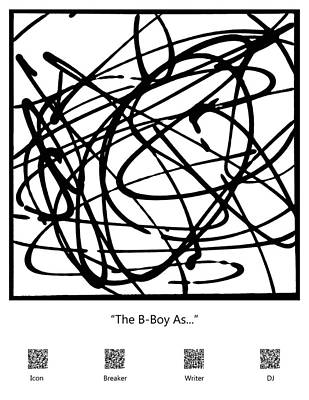 The B-boy As... Poster