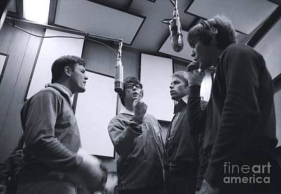 The Beach Boys Recording Pet Sounds Poster by The Titanic Project