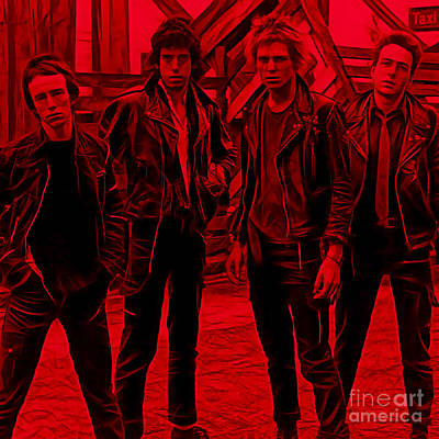 The Clash Collection Poster by Marvin Blaine