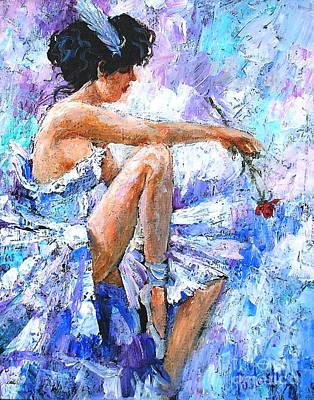 The Dancer Poster by Igor Postash