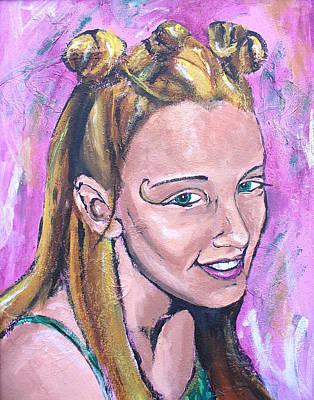 The Dancer  Poster by Sarah Crumpler