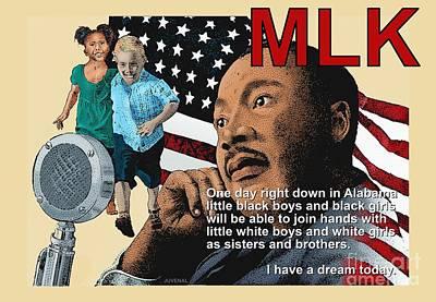The Dream Speech Poster by Joseph Juvenal