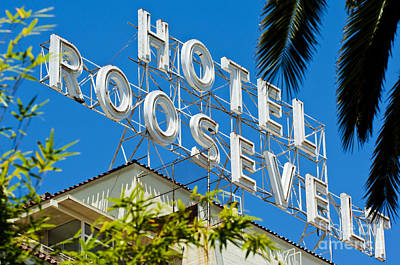 The Famous Roosevelt Hotel Poster by Micah May