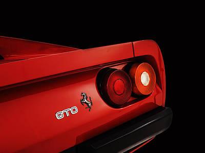 The Ferrari 288 Gto Poster by Mark Rogan