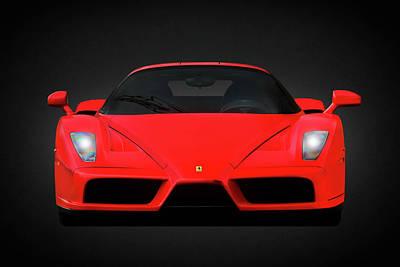 The Ferrari Enzo Poster