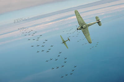 Poster featuring the photograph The Few by Gary Eason