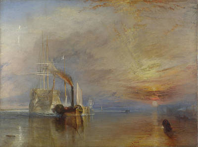 The Fighting Temeraire Poster