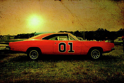 Poster featuring the photograph The General Lee by Joel Witmeyer
