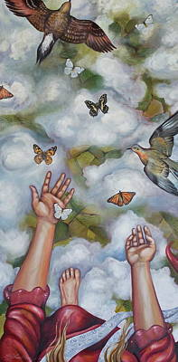 Poster featuring the painting The Gift by Sheri Howe