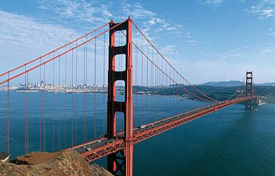 The Golden Gate Bridge Poster by American School
