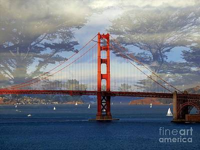 The Golden Gate Bridge  Poster by Scott Cameron
