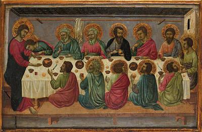 The Last Supper Poster by Ugolino da Siena