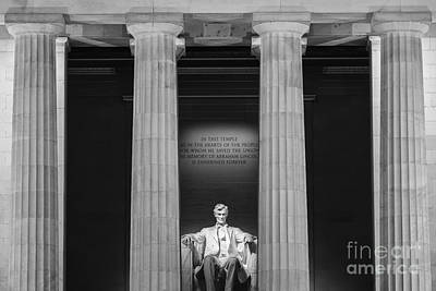 The Lincoln Memorial Poster by Henk Meijer Photography