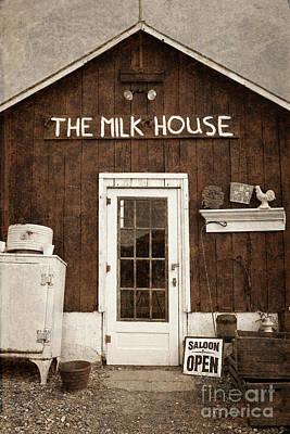 The Milk House Poster by John Stephens