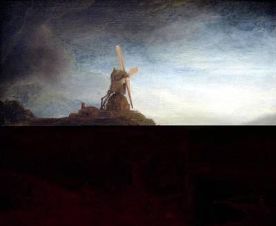 The Mill Poster by Rembrandt Van Rijn